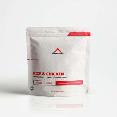 rice and chicken meal bag